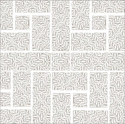 Ferran Textiles Wallpaper Shoji French Grey