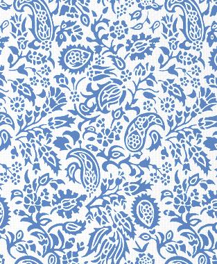 Tillett Textiles Flora Devonshire Blue Lapis