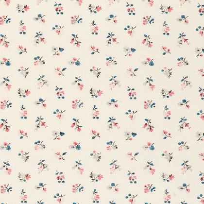 Cloth & Clover Cleeve Rhubarb & Indigo
