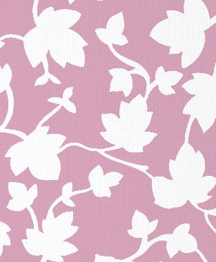 Tillett Textiles Ivy Blotch Pink Pansey