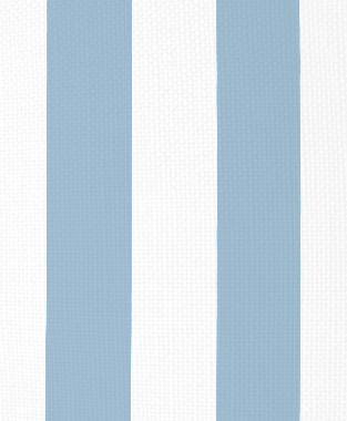 Tillett Textiles Vertical Stripe Sky