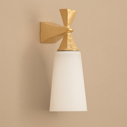 Axel Outdoor Wall Lamp Gold