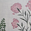 Thumbnail: MUGHAL MEADOW Pink UK Natural Linen