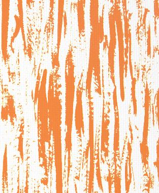 Tillett Textiles Brush Strokes Carrot