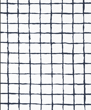 Tillett Textiles Grid Alert Navy