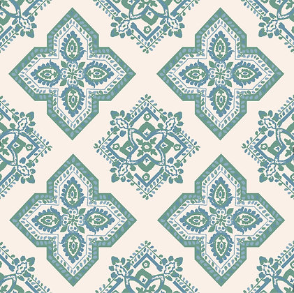 CASA BY P.C. Medallion in Sea Green