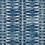 Thumbnail: ZIG ZAG MAXI Indigo UK Natural Linen