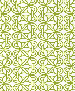 Tillett Textiles Newman's Window Dark Lime