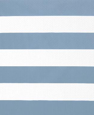 Tillett Textiles Horizontal Stripe JD Blue