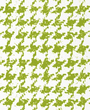 Tillett Textiles Houndstooth Dark Lime