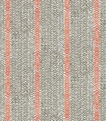 Ferran Textiles Cabana Stripe French Grey
