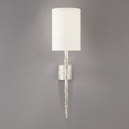 Short Hera wall lamp Nickle