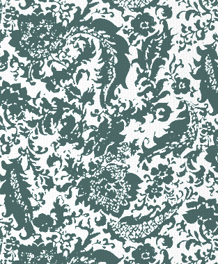 Tillett Textiles Victoria Rose Deep sea