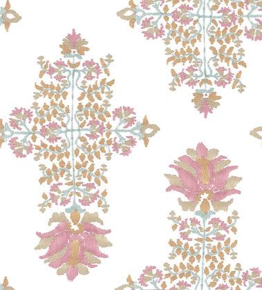 Ferran Textiles Lotus Blossom Clay