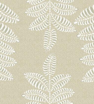 Ferran Textiles Chiswick Fern Driftwood