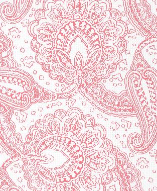 Tillett Textiles Paisley Envinced Sorbet