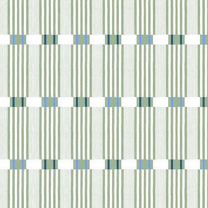 Check Stripe Green