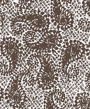 Tillett Textiles Paisley Patch Cocoa