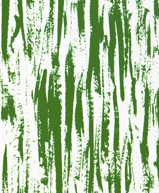 Tillett Textiles Brush Strokes Forest Green