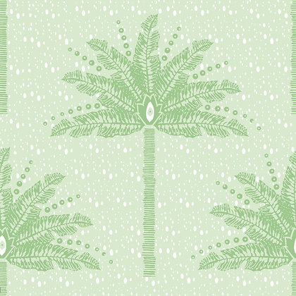 CASA BY P.C. Palm Tree in Spring Green