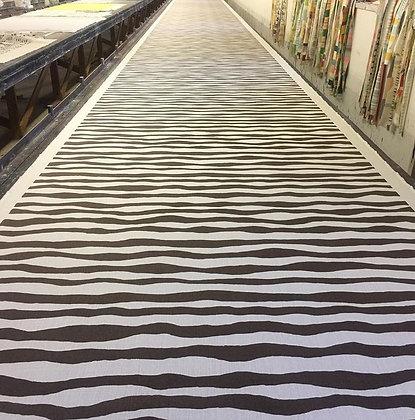 Tillett Textiles Bengali Stripe Brown