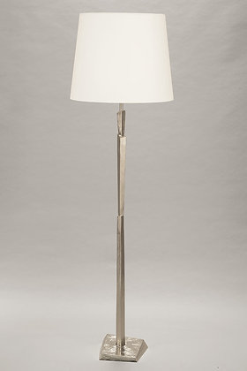 Nickle Floor Lamp Cubist