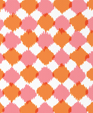 Tillett Textiles Chit Chat Sorbet & Carrot