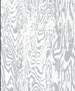 Tillett Textiles Woodgrain Metallic Silver
