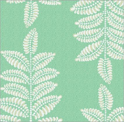 Ferran Textiles Wallpaper Chiswick Fern Grass