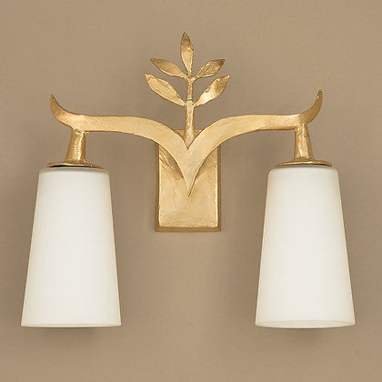 Alia Outdoor Wall Lamp Gold