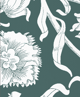 Tillett Textiles Alexandria Deep sea