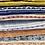 Thumbnail: Nichola Taylorson Dabu Stripe Ash Grey Emb