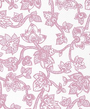 Tillett Textiles Sumatra Pink Pansey