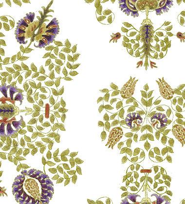 Ferran Textiles Thessaly Aubergine