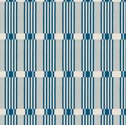 Check Stripe Indigo Natural