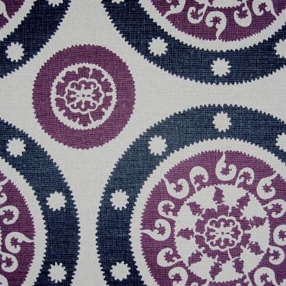 Plumwich Tessa Charcoal Grey & Bright Purple