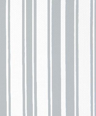 Tillett Textiles Evergreen Stripe Metallic Silver