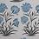 Thumbnail: MUGHAL MEADOW MINI Blue Oyster Linen