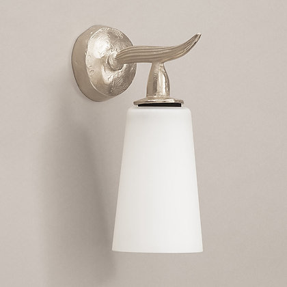 Cano Outdoor Wall Lamp Nickle