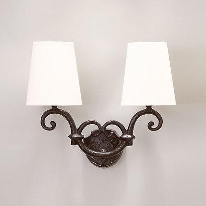 Solis wall lamp Bronze