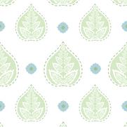 Banyan Celadon Green Emb