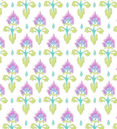 Ferran Textiles Perse Violet