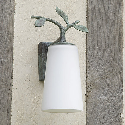 Dolce Outdoor Wall Lamp Green Bronze