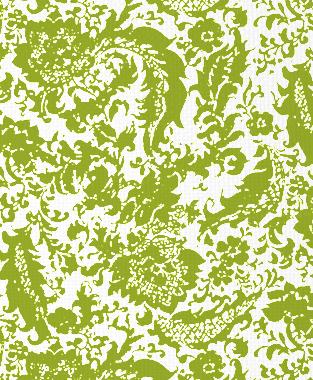 Tillett Textiles Victoria Rose Dark Lime