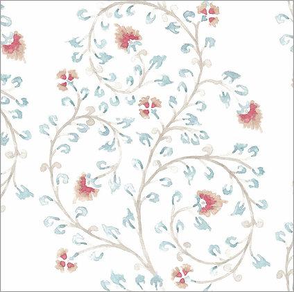 Ferran Textiles Wallpaper Indienne Driftwood