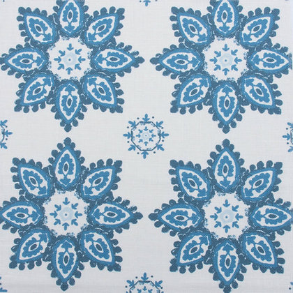 CASA BY P.C. Jaipur Flower in Blue Heaven
