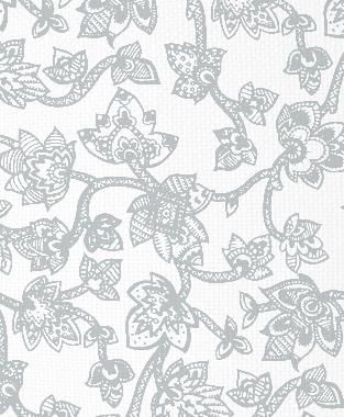 Tillett Textiles Sumatra Metallic Silver