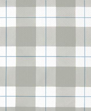Tillett Textiles Burton Plaid Sky & Sea Haze