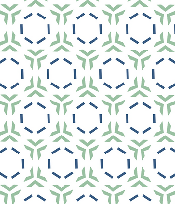 Behl Designs Link Jade Green Emb