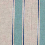 Indian Stripe Turquoise Blue